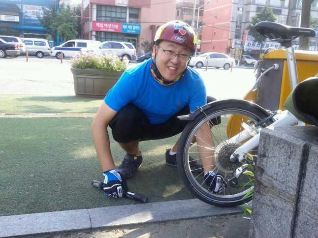 웃는자전거